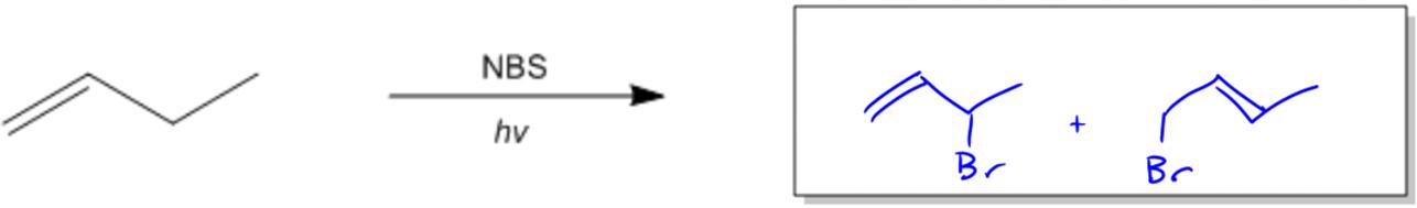Allylic Bromination Organic Chemistry Video Clutch Prep
