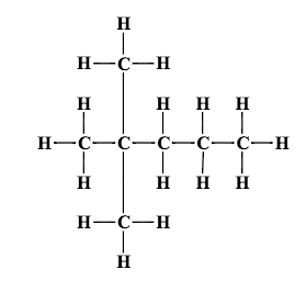 convert the following structural formula into its condensed formula