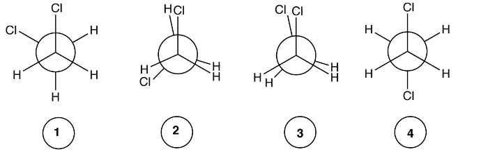 Rank The Following Molecule In Order Of Increasing St