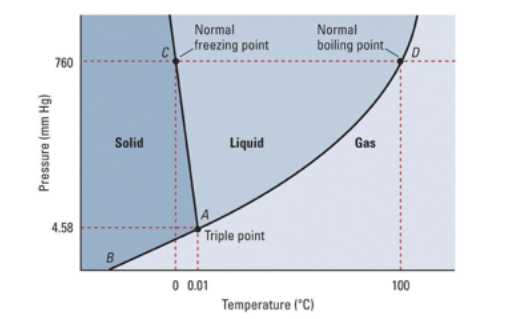 The Normal Boiling Point For The Substance In The Phase