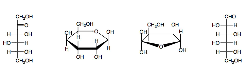 Identify And Label The Aldose Ketose Furanose And