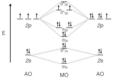 solution  utilize the molecular orbital d