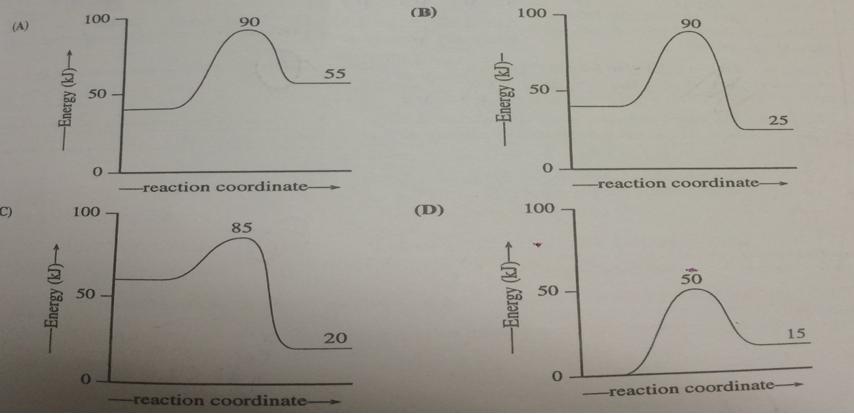 Which Reaction Coordinate Diagram Represen Clutch Prep