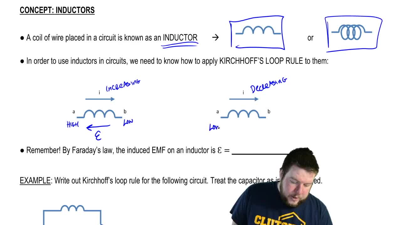 Inductors Physics Video Clutch Prep Use Of Inductor In A Circuit