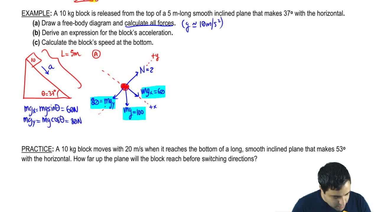 Inclined planes physics video clutch prep ccuart Choice Image