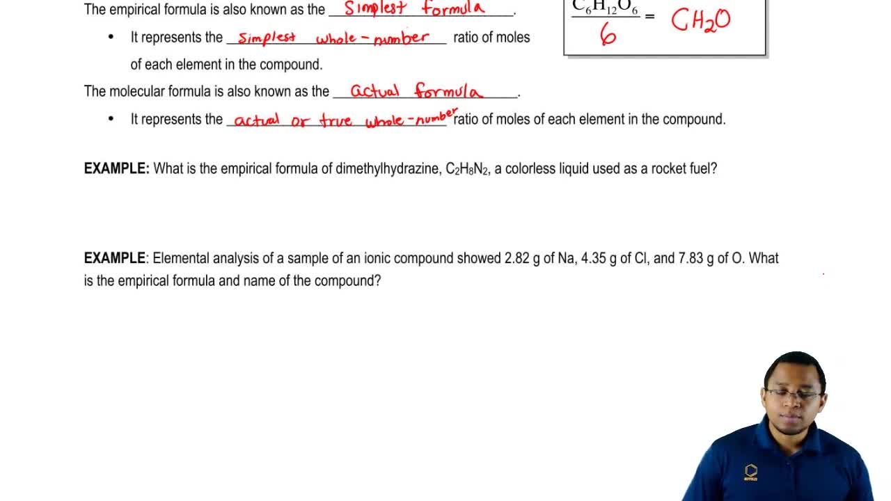 Empirical formula chemistry video clutch prep biocorpaavc Image collections