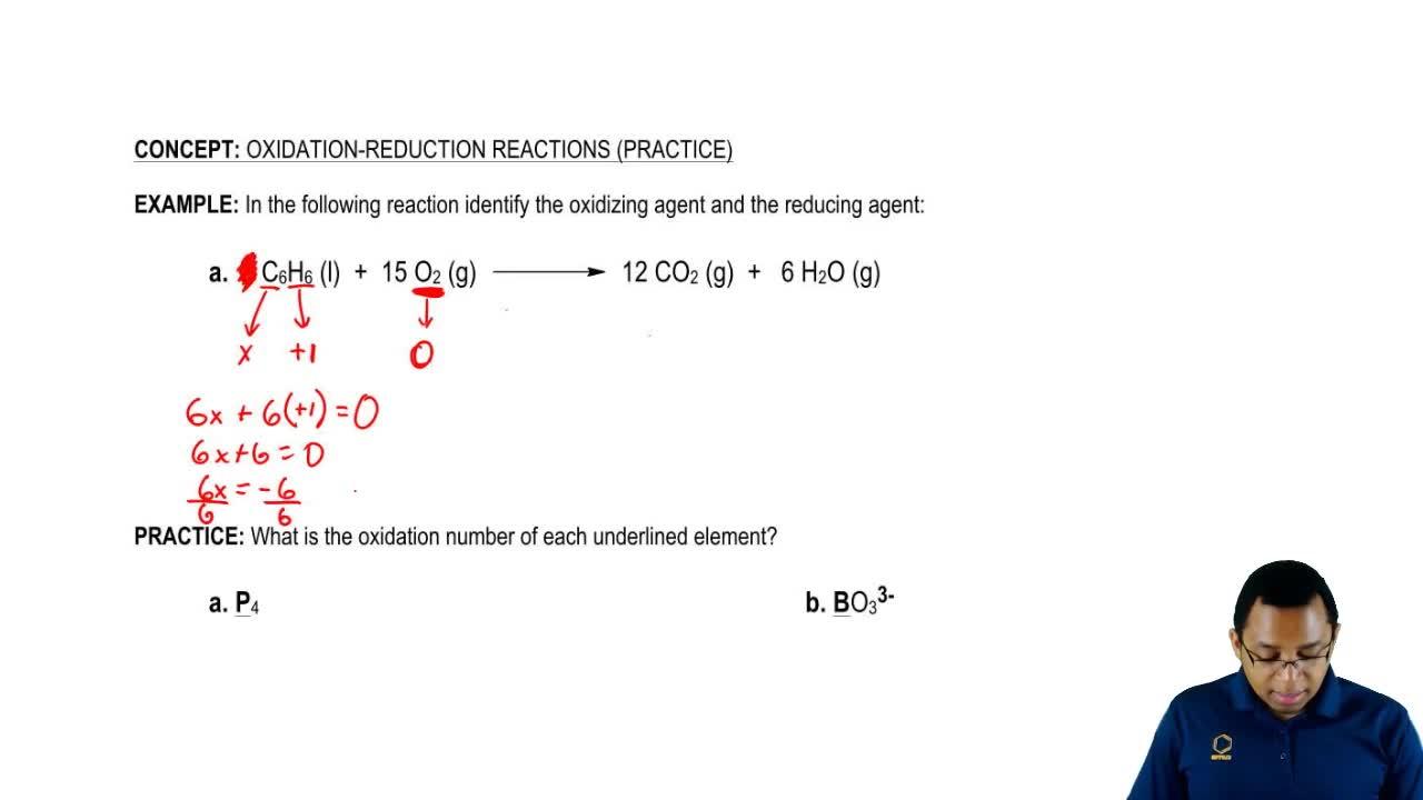 Redox Reaction Chemistry Video Clutch Prep