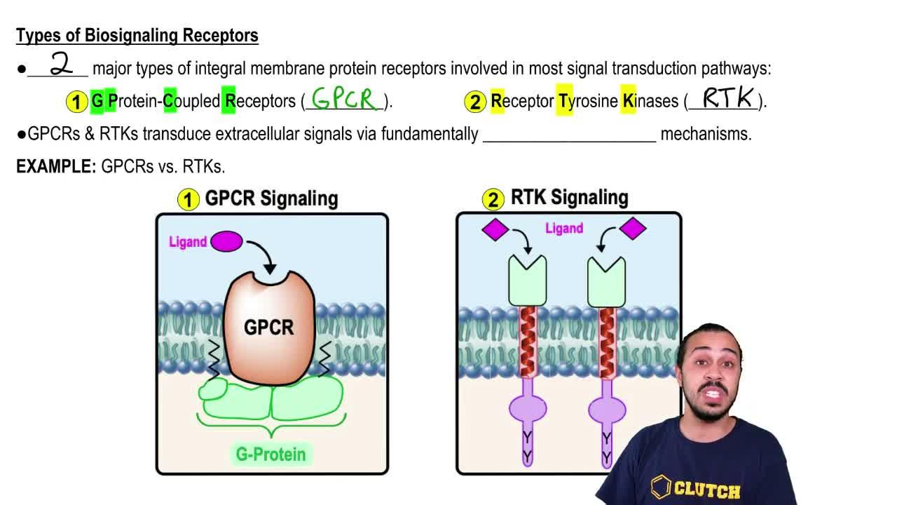 Introduction To Biosignaling Biochemistry Video Clutch Prep