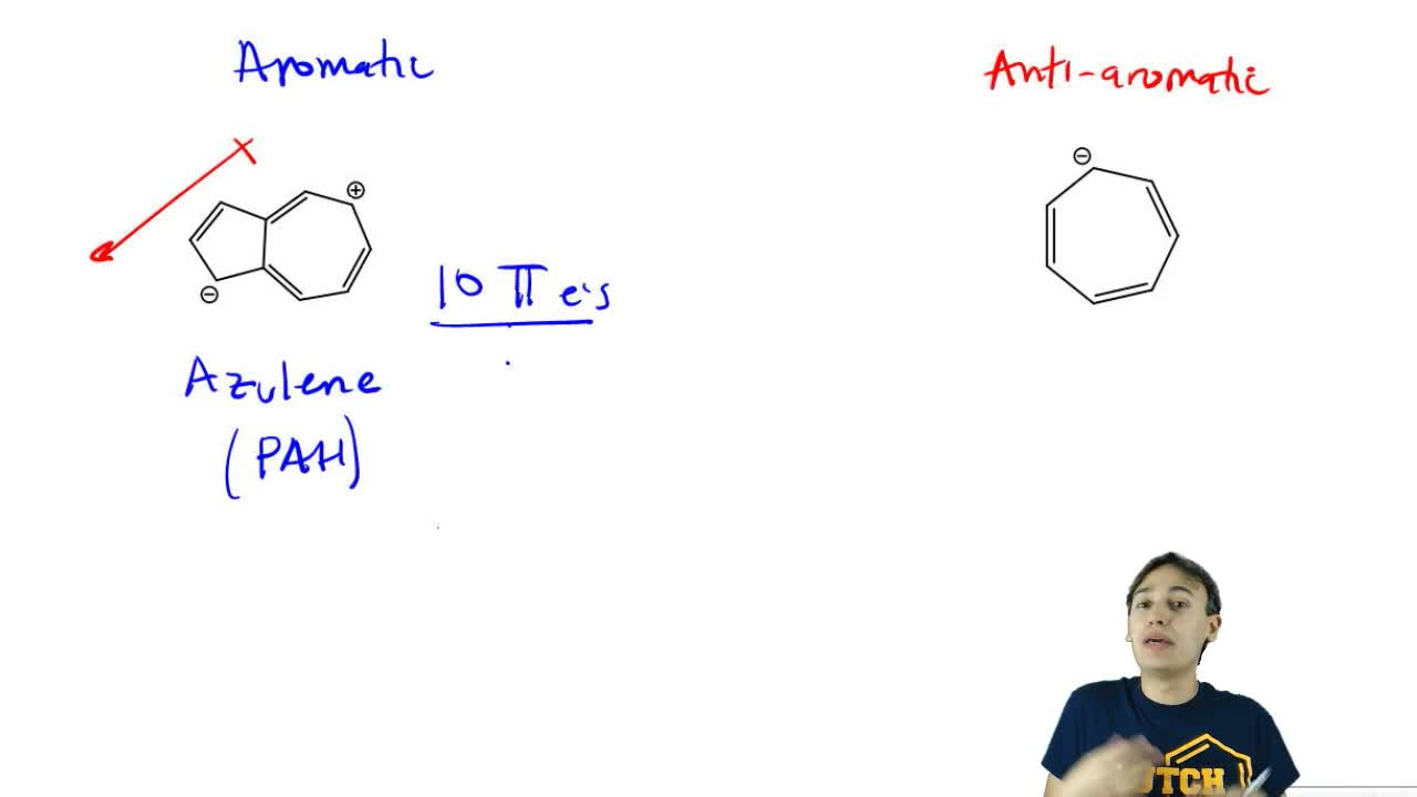Classify the following molecule or ion as aromatic, a...