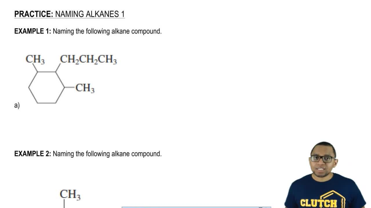 nomenclature of alkanes Hydrocarbons - naming and writing chemical formulas in this video we will learn how to name and writhe the chemical formulas for several types of hydrocarbons: alkanes, alkenes and alkynes.