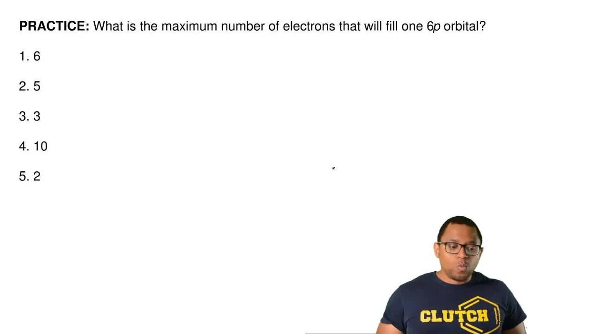 What is the maximum number of electrons that clutch prep pooptronica Gallery