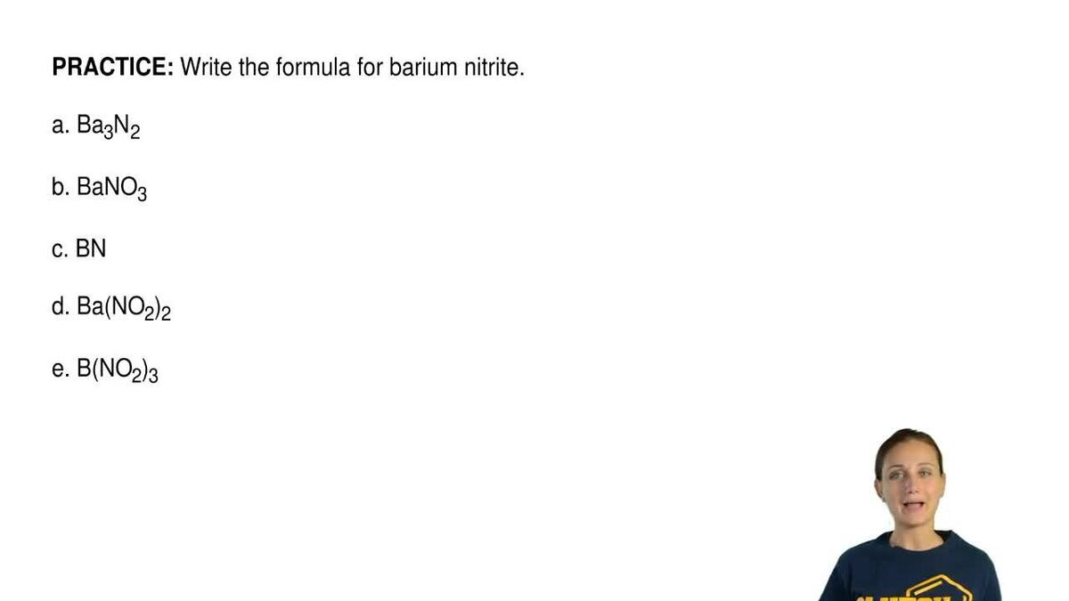 Write the formula for barium nitrite a ba3 clutch prep biocorpaavc Images