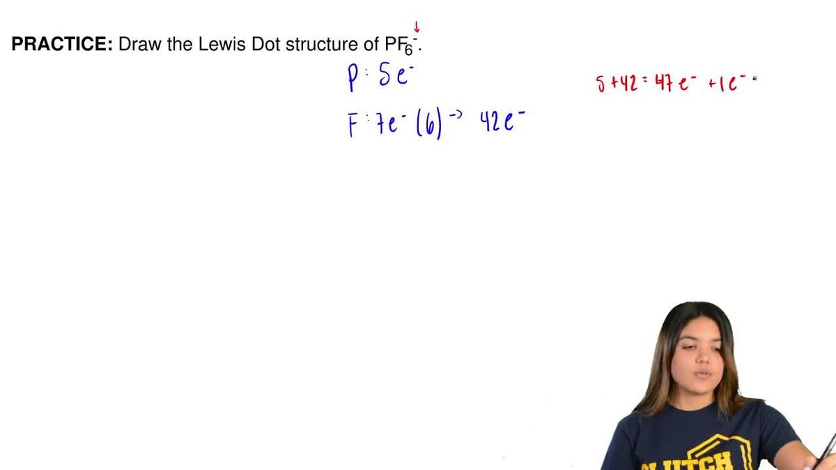Draw the lewis dot structure of pf6 clutch prep pooptronica