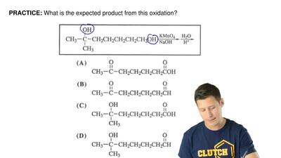 What is the expected product from this oxidation? ...