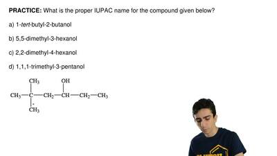 What is the proper IUPAC name for the compound given below?  a) 1-tert-butyl-2...