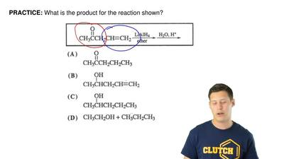 What is the product for the reaction shown? ...