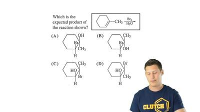 Which is the expected product of the reaction shown? ...