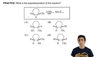 What is the expected product of this reaction? ...