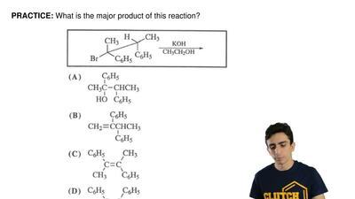 What is the major product of this reaction? ...