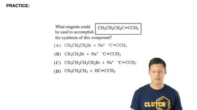 What reagents could be used to accomplish the synthesis of this compound? ...