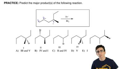 Predict the major product(s) of the following reaction. ...