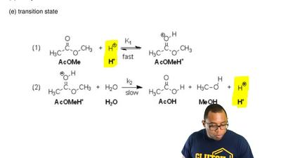 Consider the following reaction mechanism for the question:  What is the role ...