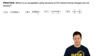 Answer: Draw a Lewis structure of the anio... | Clutch Prep