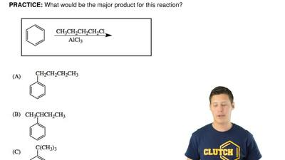 What would be the major product for this reaction? ...