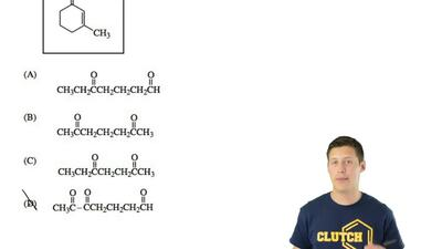 Which of these reactants can be used to make the compound shown by an intramol...