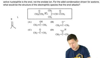 Aldol condensations, even with ketones, can occur under acid conditions where ...