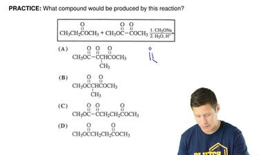 What compound would be produced by this reaction? ...