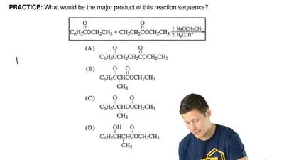 What would be the major product of this reaction sequence? ...