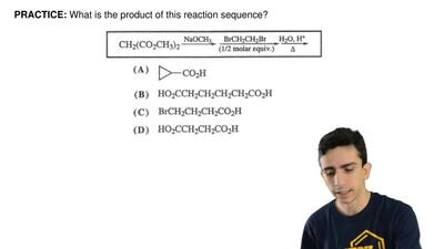 What is the product of this reaction sequence? ...