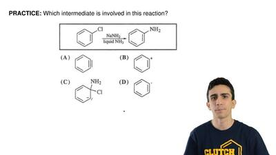 Which intermediate is involved in this reaction? ...