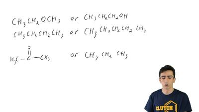 For each pair of compounds below, predict which compound will have the higher ...