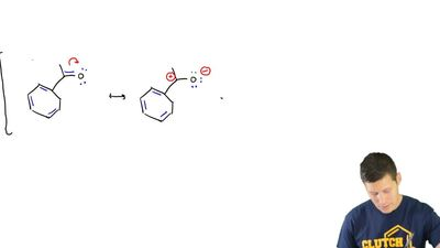 Draw significant resonance structures for the following compound: ...