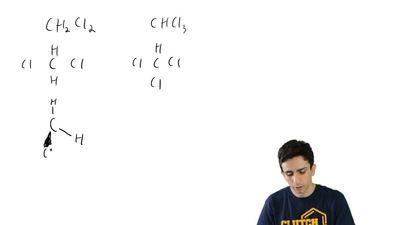 Methylene chloride (CH2Cl2) has fewer chlorine atoms than chloroform (CHCl3). ...