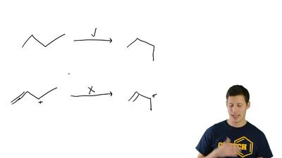 Single bonds generally experience free rotation at room temperature (as will b...
