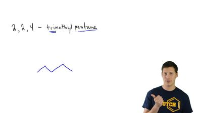 Draw each of the following compounds:  (a) 2,2,4-Trimethylpentane ...