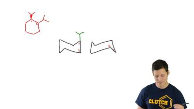 Draw both chair conformations for each of the following compounds. In each cas...