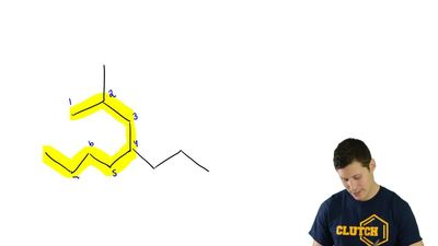Identify the name of the parent for each of the following compounds: ...