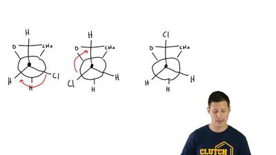 The conformations of (+)-epichlorohydrin (1), viewed along the Ca—Cb bond, can...