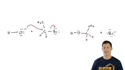 Consider the following reaction:  (b) Identify the two characteristic arrow-pu...