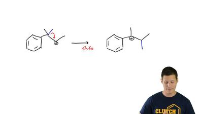 For each of the following reactions identify the arrow-pushing pattern that is...
