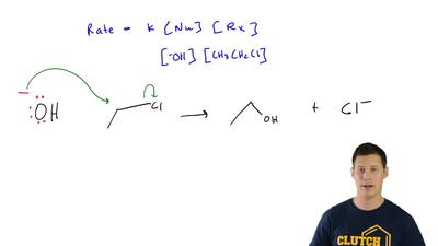 Consider the following reaction:This reaction has been determined to be secon...