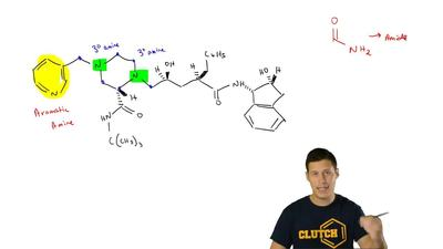 Identify all of the functional groups in Crixivan, an important drug in the tr...
