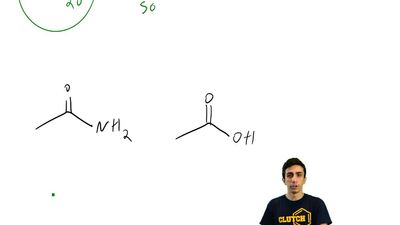 For each pair of compounds below, identify the more acidic compound: ...