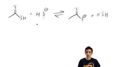 For each reaction below, draw the mechanism (curved arrows) and then predict w...