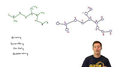 All the parts of this problem refer to the alkane having the carbon skeleton s...