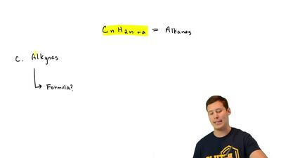 The general molecular formula for alkanes is CnH2n+2.What is the general mol...